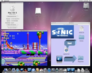 Screenshot Open Sonic