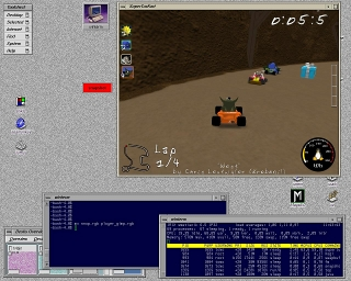 SuperTuxKart Screenshot SGI IRIX
