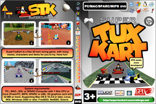 SuperTuxKart Cover